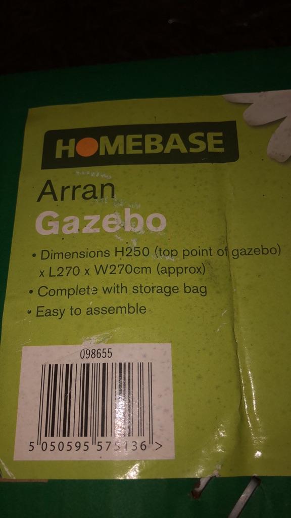 Gazebo frame put up your self