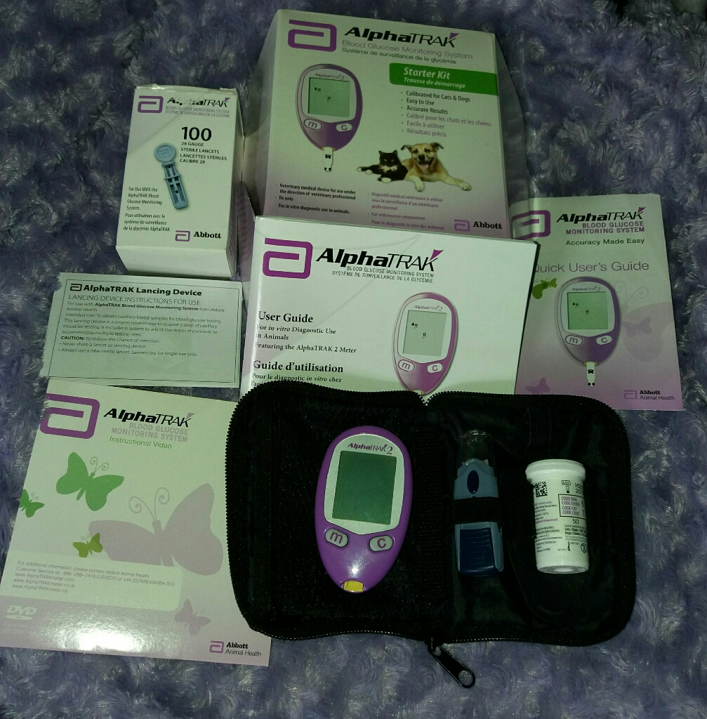 Alphatrak 2 Blood Monitoring System For Diabetic Cats & Dogs