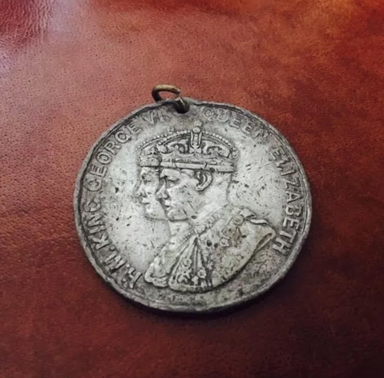 RARE George VI and Elizabeth Coronation Medal 1937