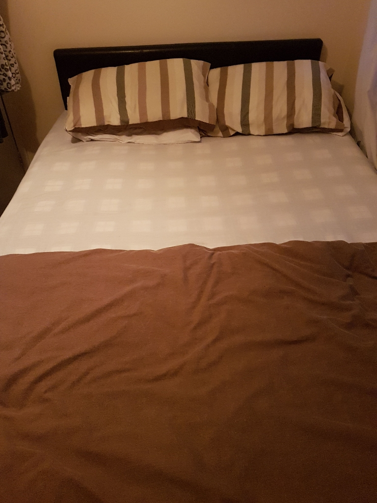4ft small double bed with orthopedic matress