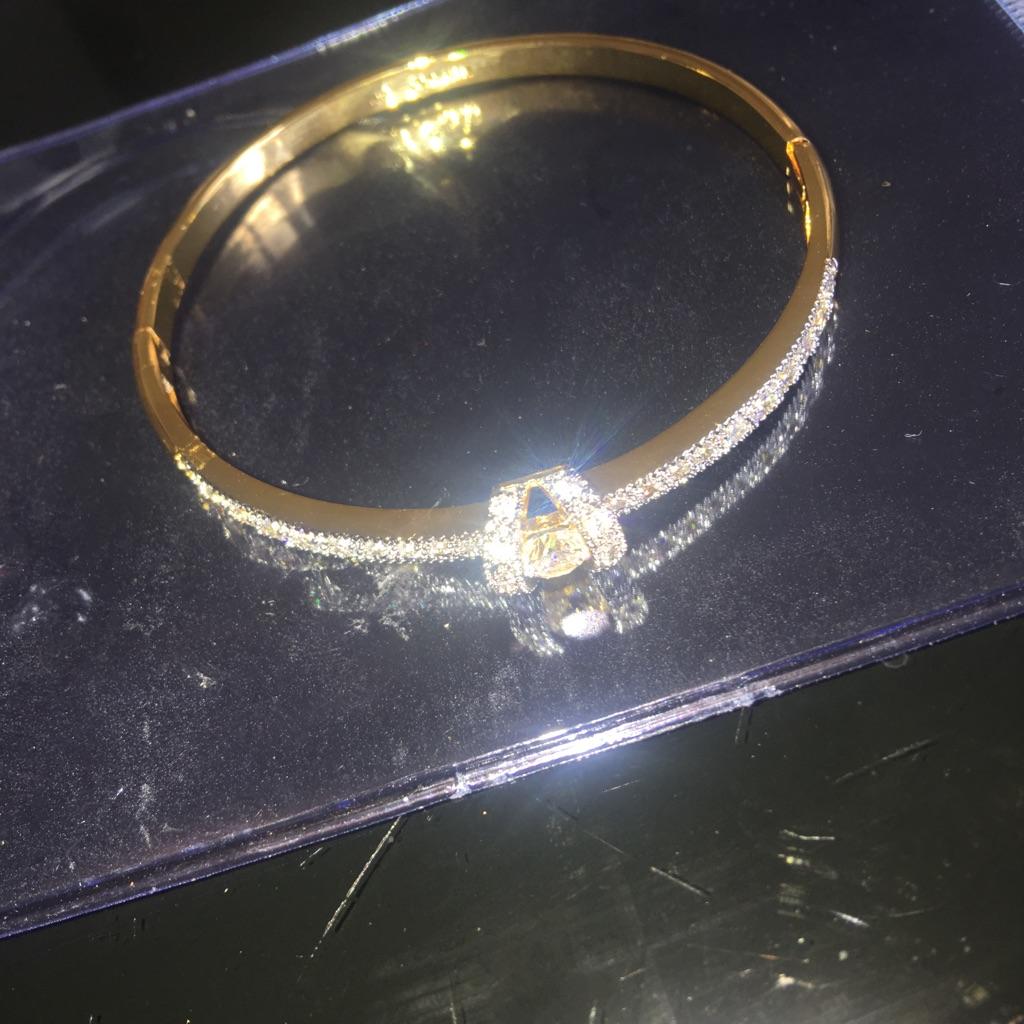 Gold filled bracelet bangle