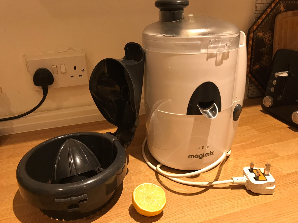 Le duo magimix juicer