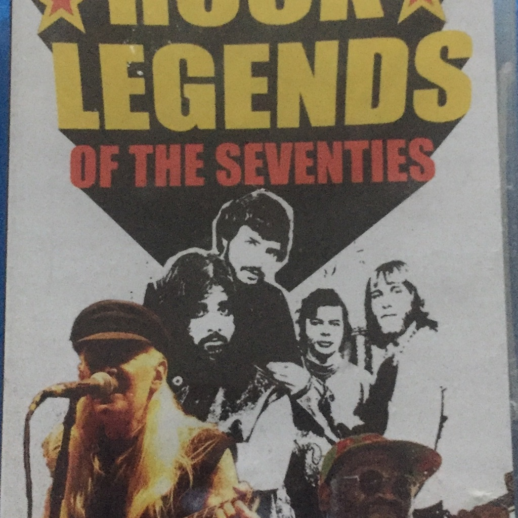 Rock legends of the seventies new and factory sealed