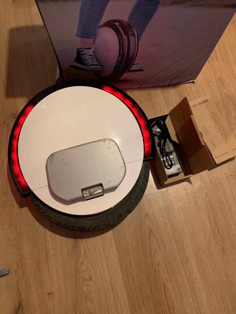 One wheel hoover board