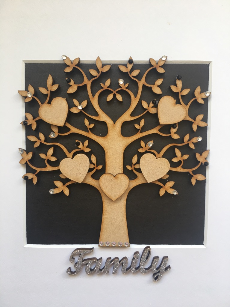 Box frame family tree
