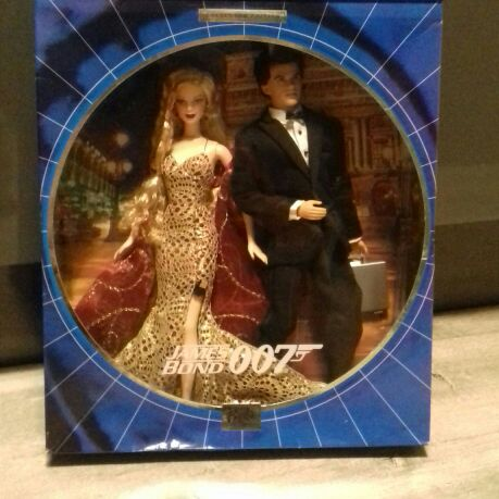 Barbie Collectors Edition James Bond 007 with Bond Girl