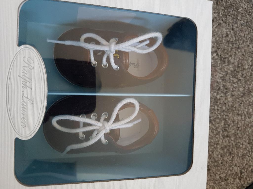 Baby boys Ralph Lauren shoes