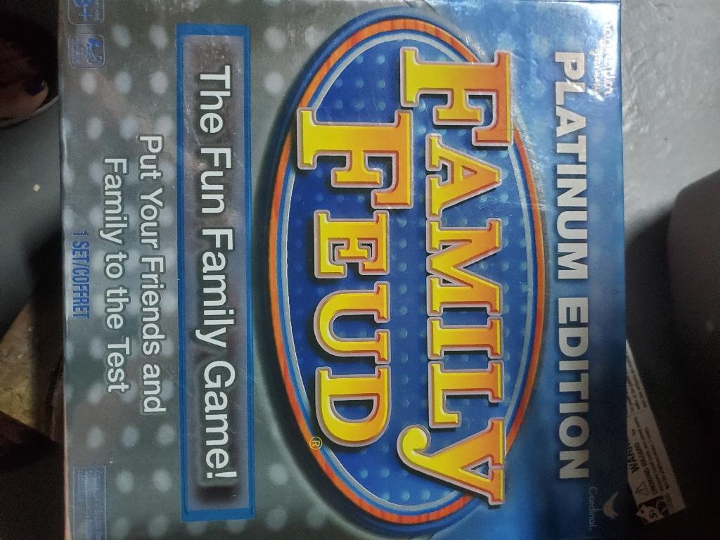 Family fued platium edition
