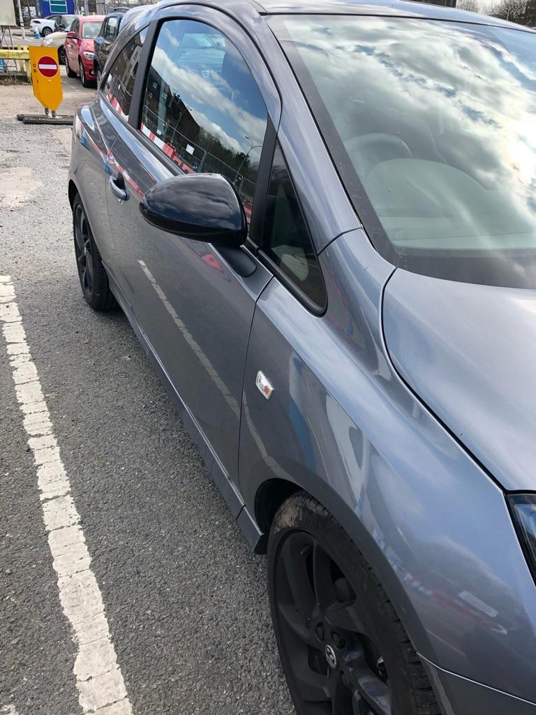 Vauxhall corsa sri vx line nav