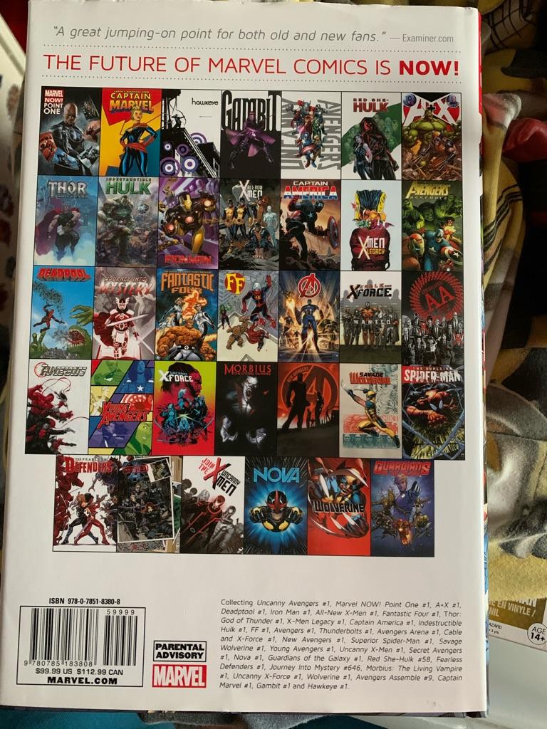 Marvel now comic book