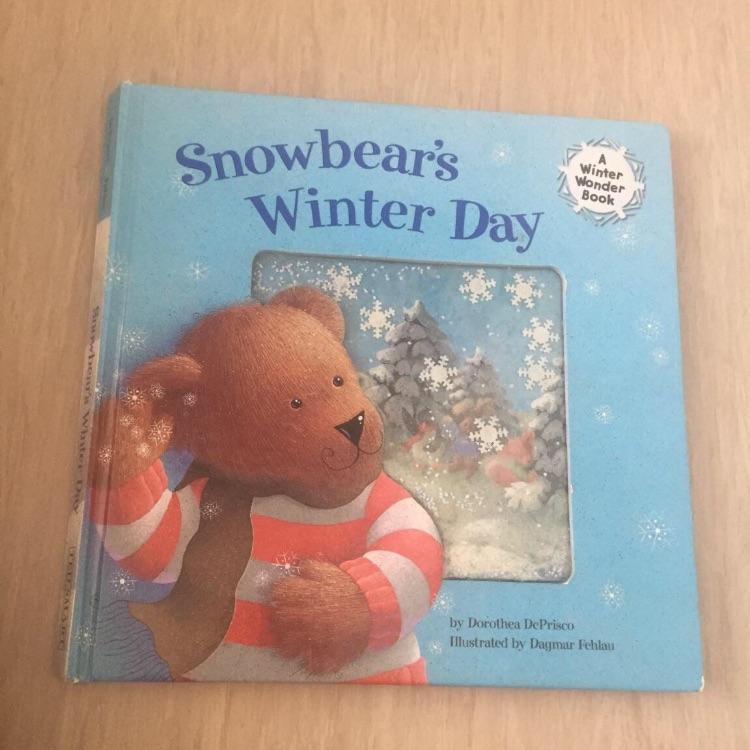 Snowbear's winter dah book