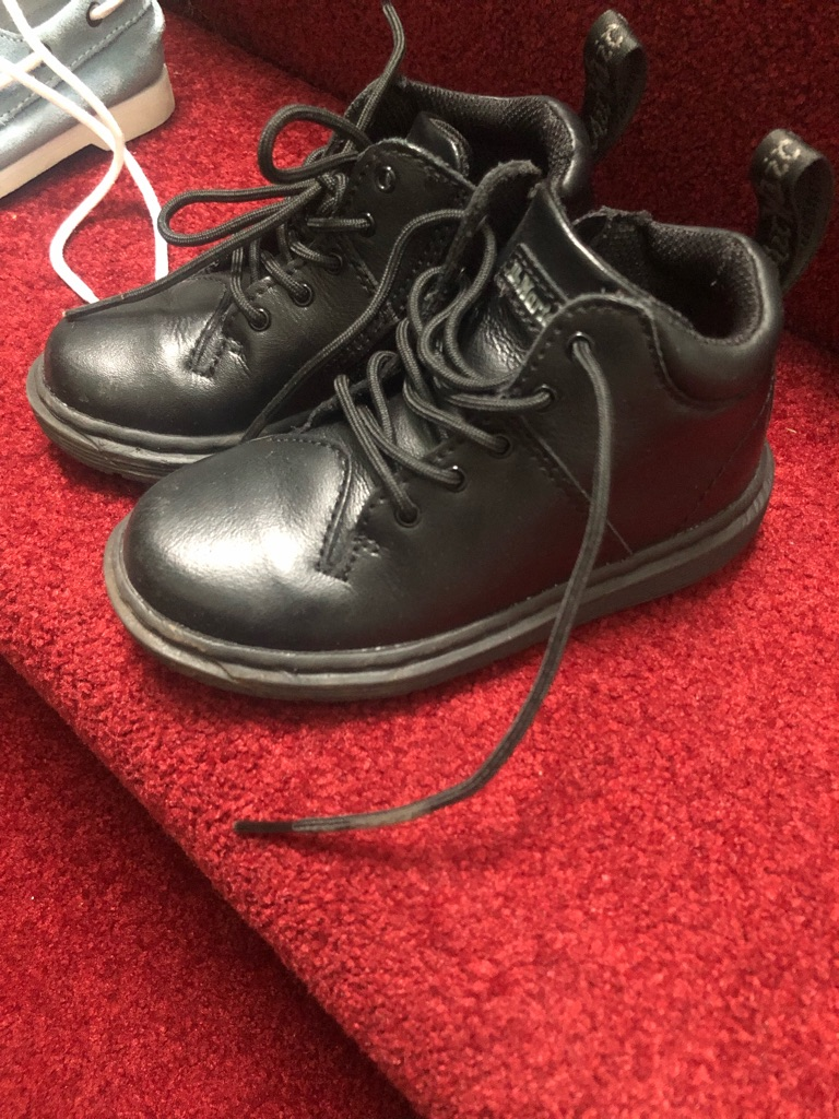 Doc Martin boots (boys)