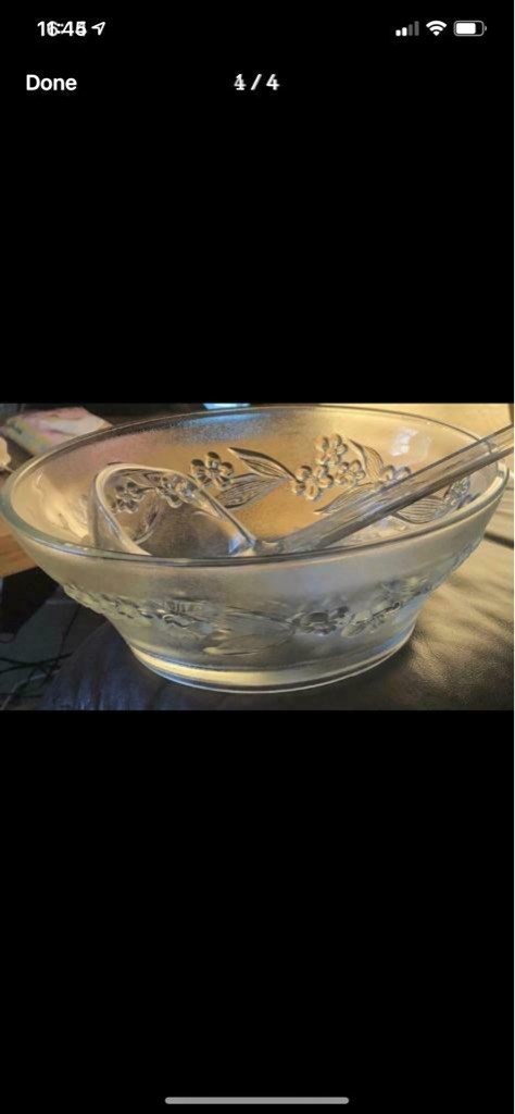 Retro boxed punch bowl set