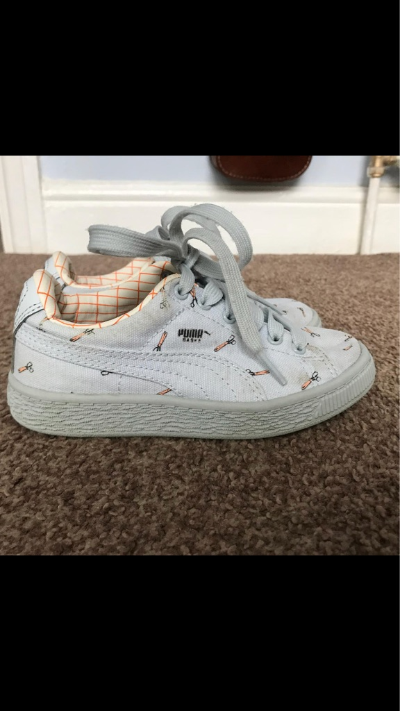 Tiny cottons puma trainers. Size 12
