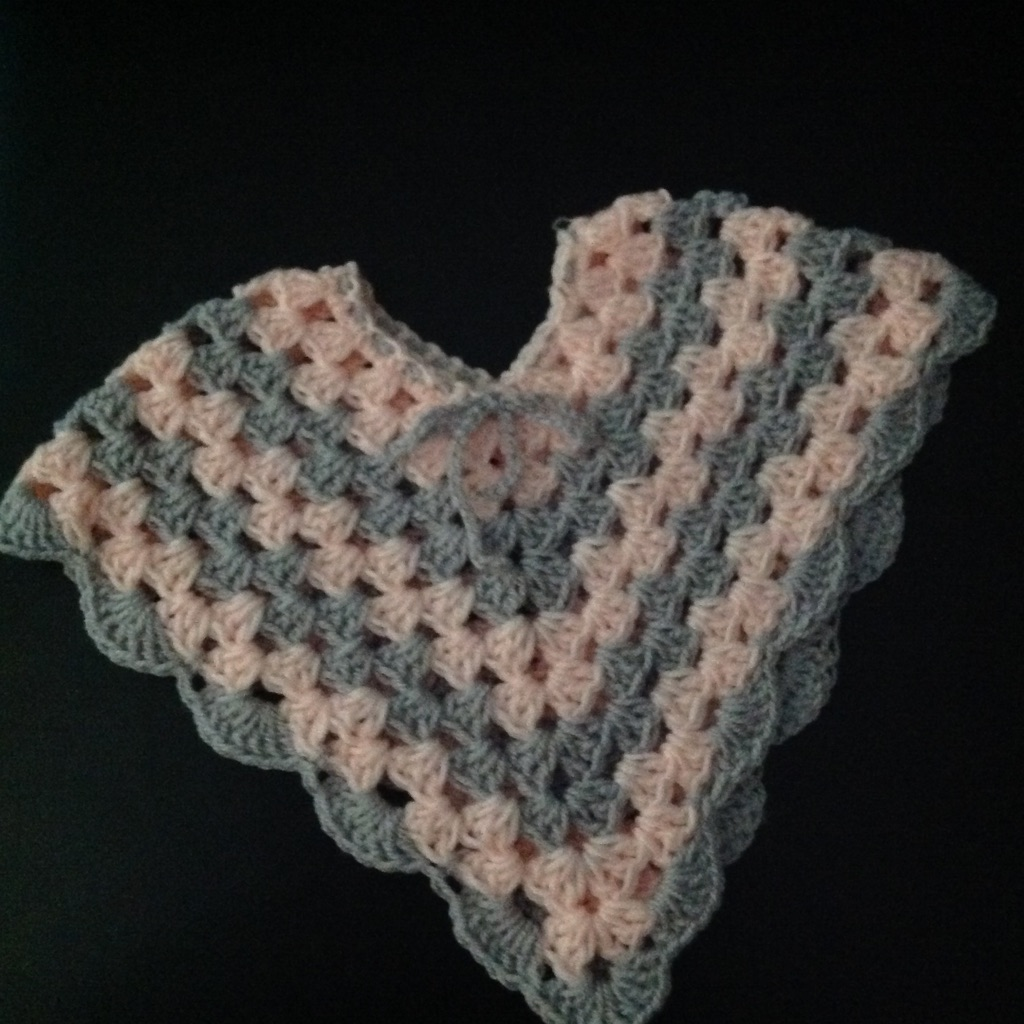 Crocheted Baby Poncho