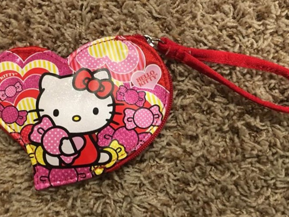 Heart shaped Hello Kitty Coin Purse