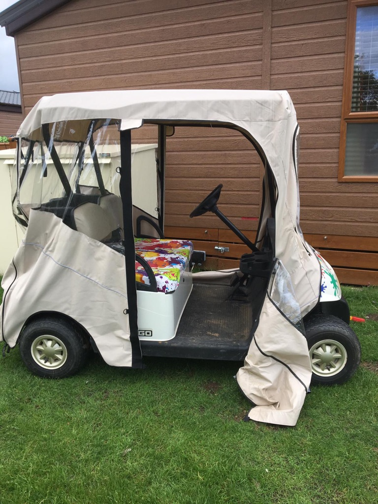 2 Seater Ezgo Golf Buggy