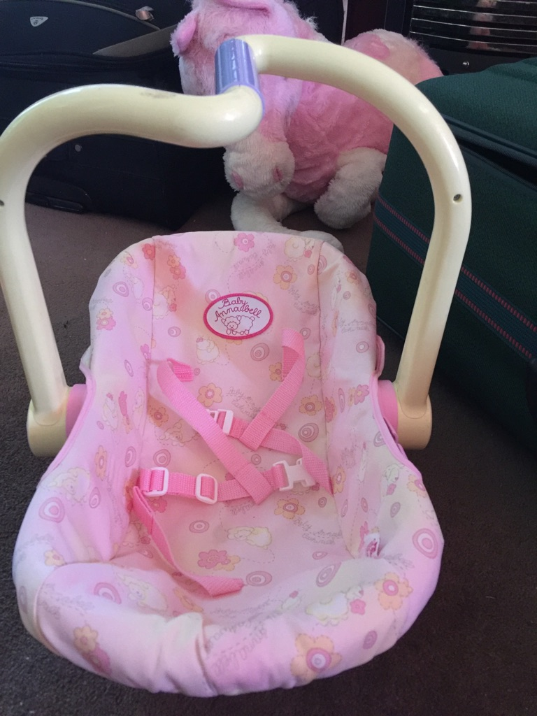 Baby annabell/doll bundle