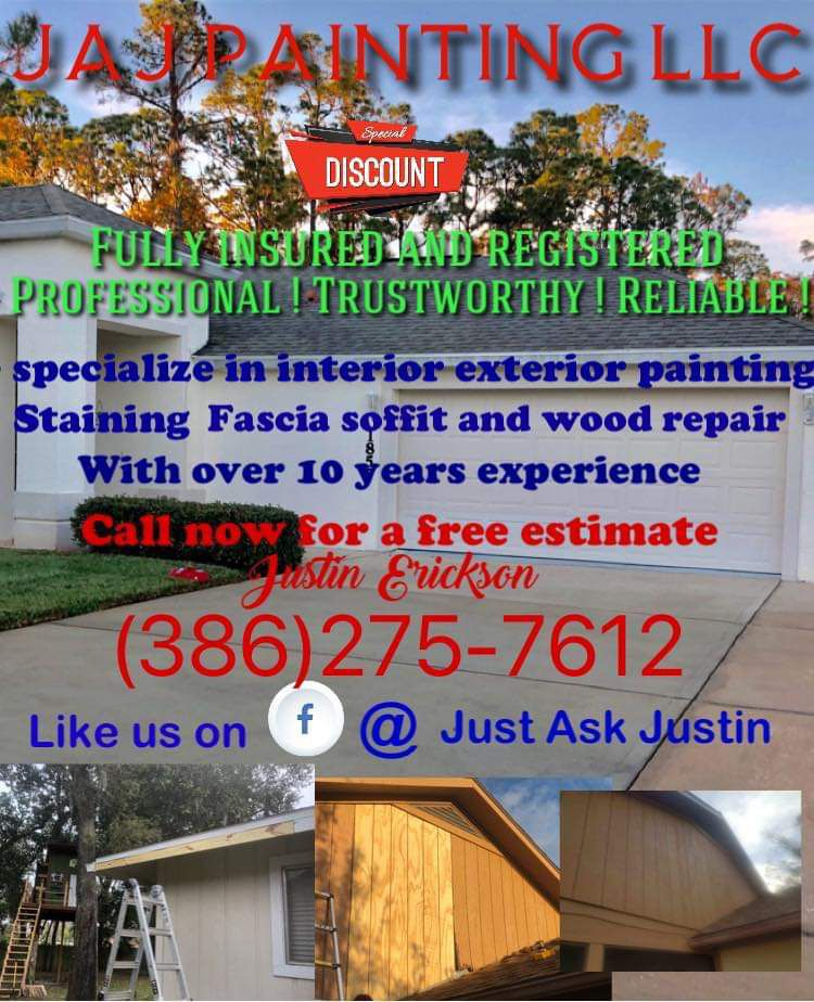 Painting staining wood repair
