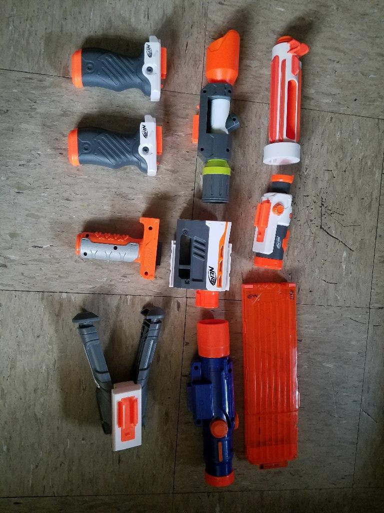 Nerf gun lot