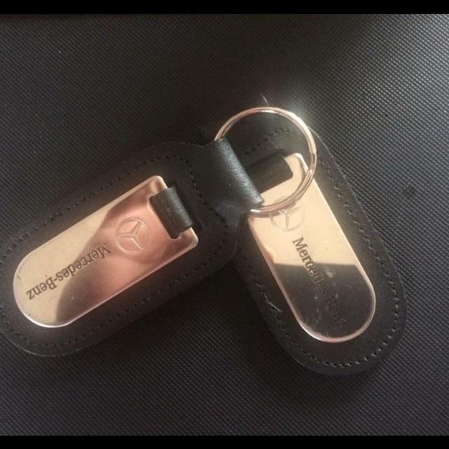 Mercedes key rings x 2