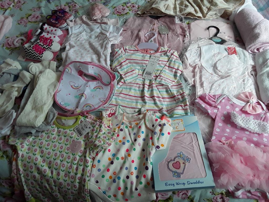 BABY GIRL BUNDLE NEW