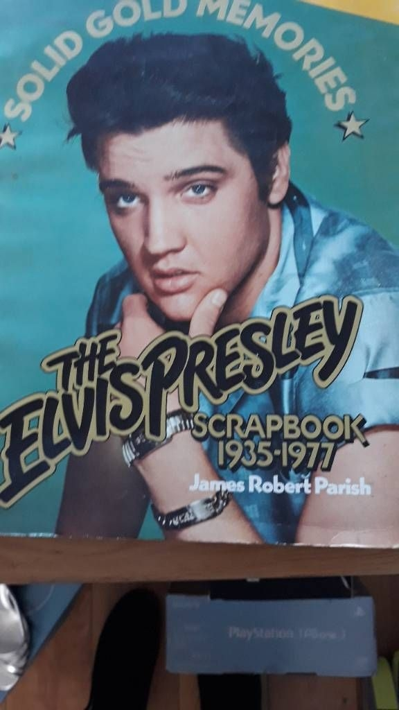 Elvis scrap book