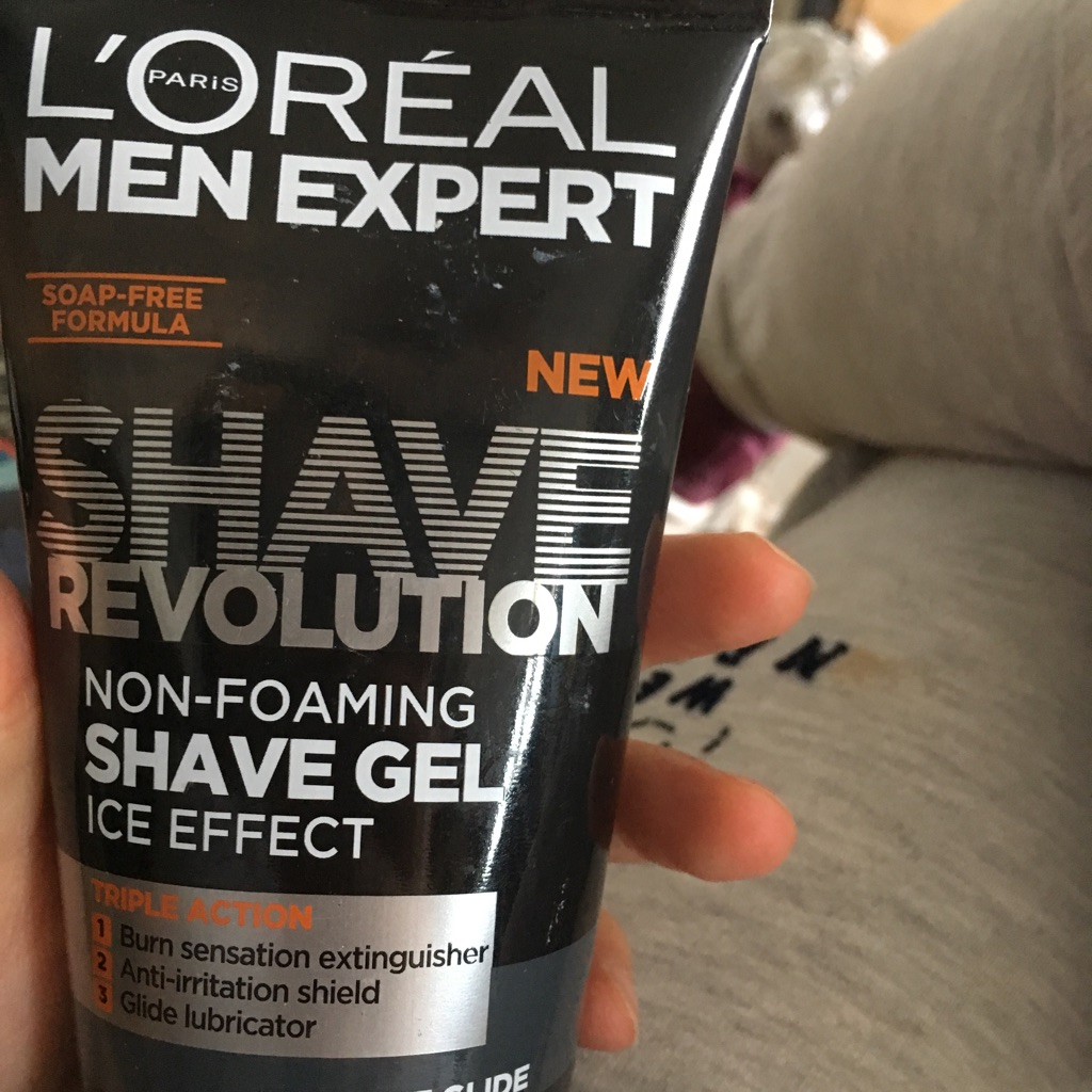 Shave gel from L'Oréal Paris