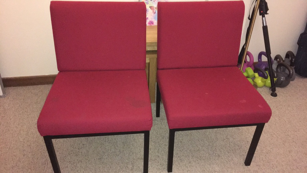 Two desk chairs