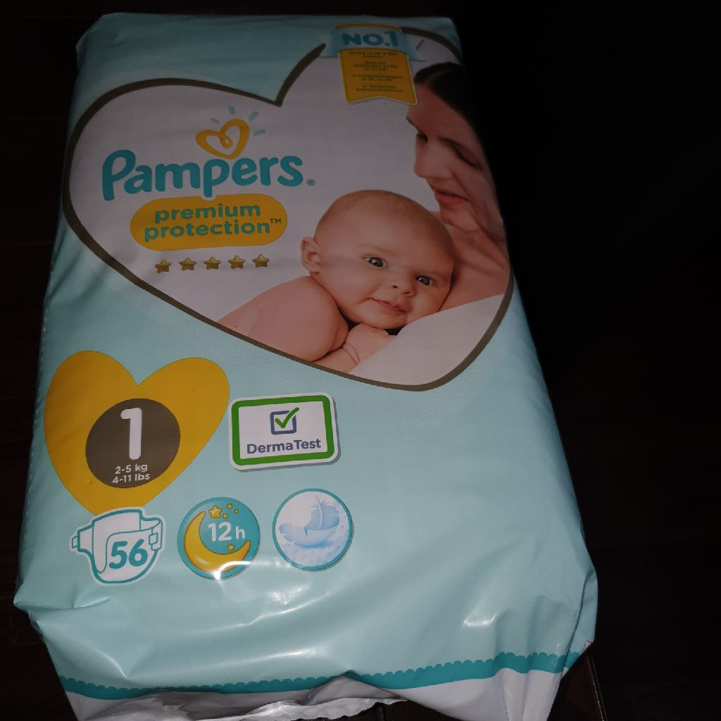Non used Pampers Nappy (Size 1 ,2-5 Kg)