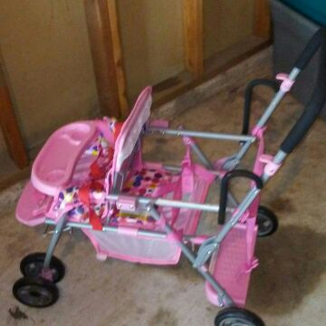 Double Baby Doll Stroller