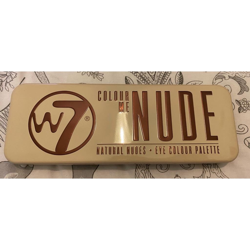 W7 Colour Me Nude palette
