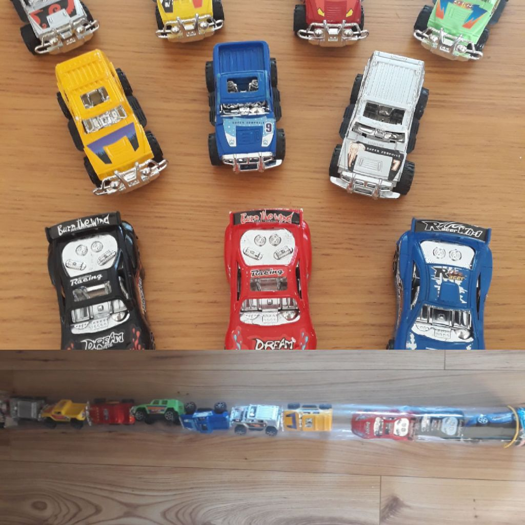 10 x Toy cars