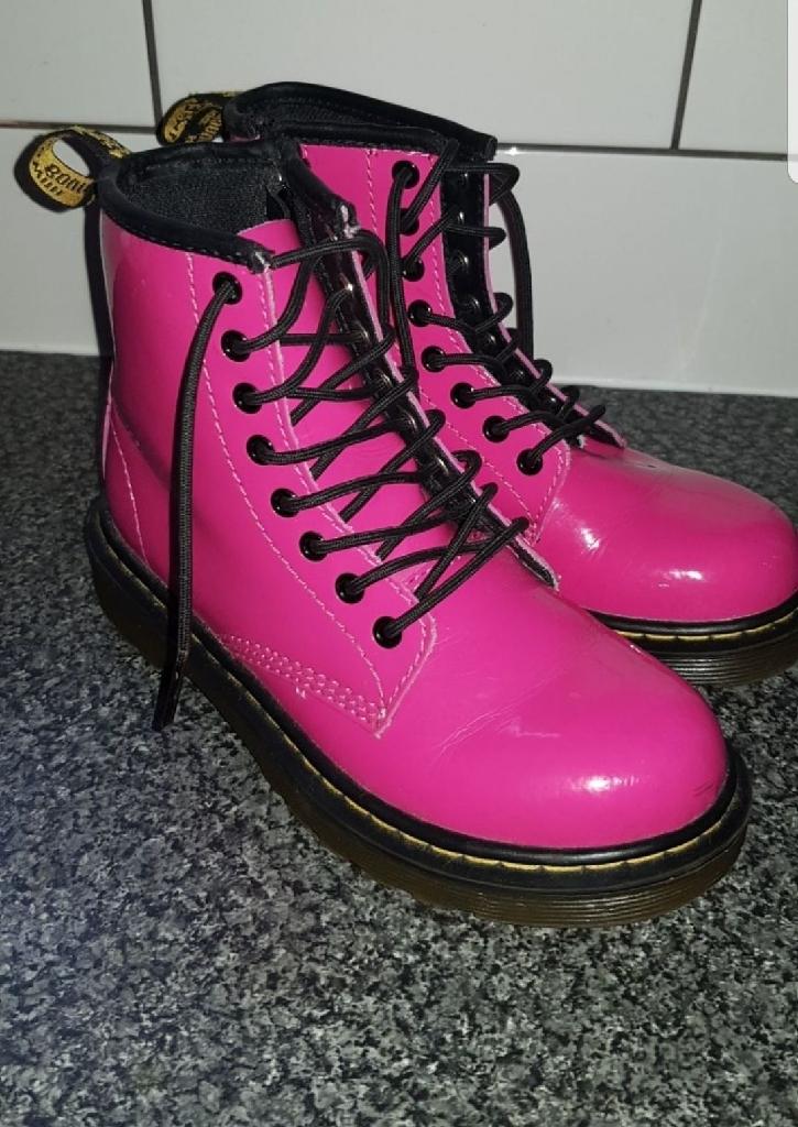 Genuine girls pink doc martins( size 12)