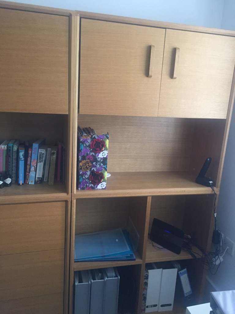 Office storage/ display unit x two