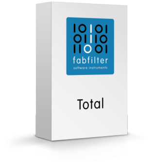 FabFilter Total Bundle 2021.5 For Windows 1 Year subscription of 2 users