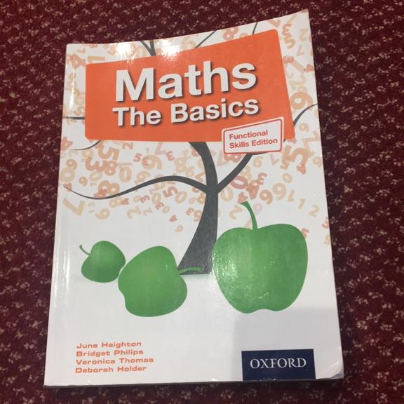 Maths revision book