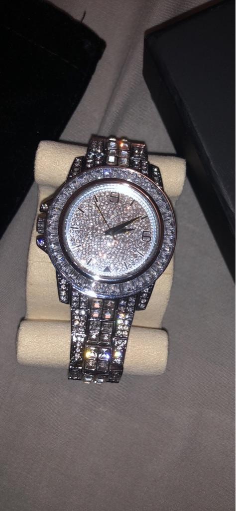 Hello Ice Diamond Watch