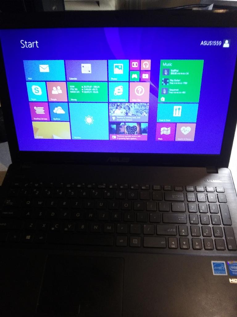 Asus laptop windows 8.1 Pro