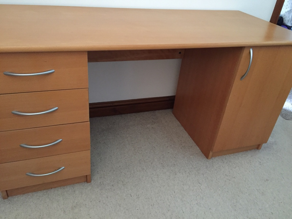 FURTHER REDUCTION........Solid wood desk