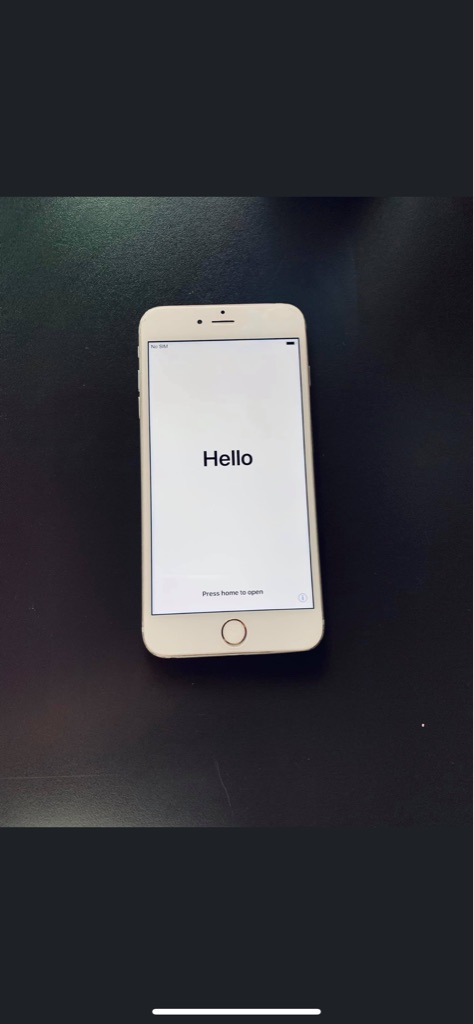 Apple iPhone 6 Plus White / Silver