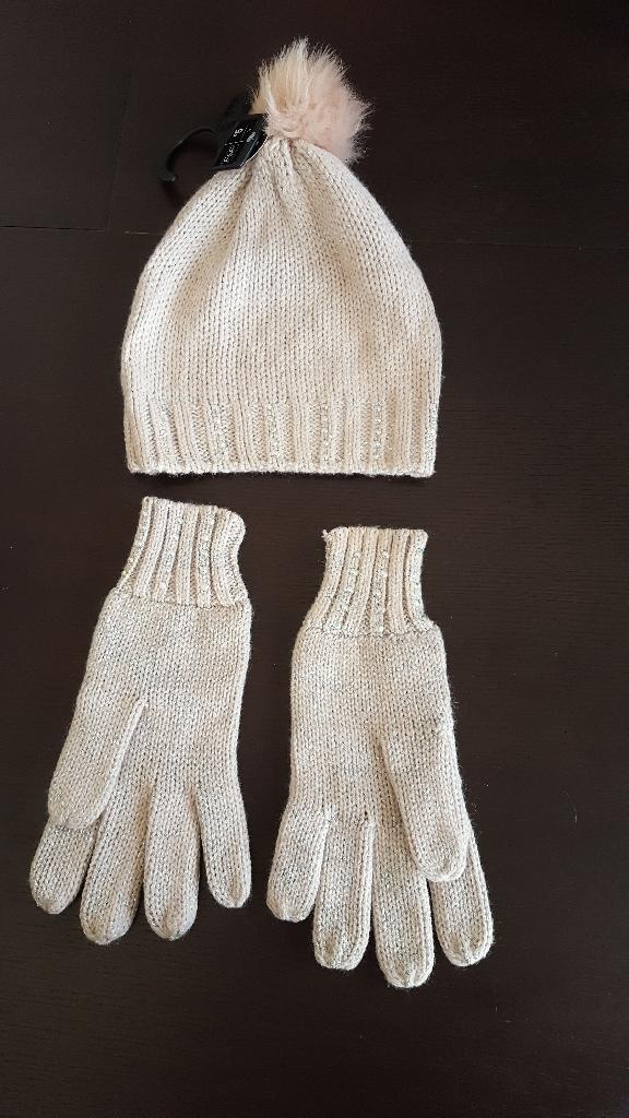 F&F hat an matching gloves