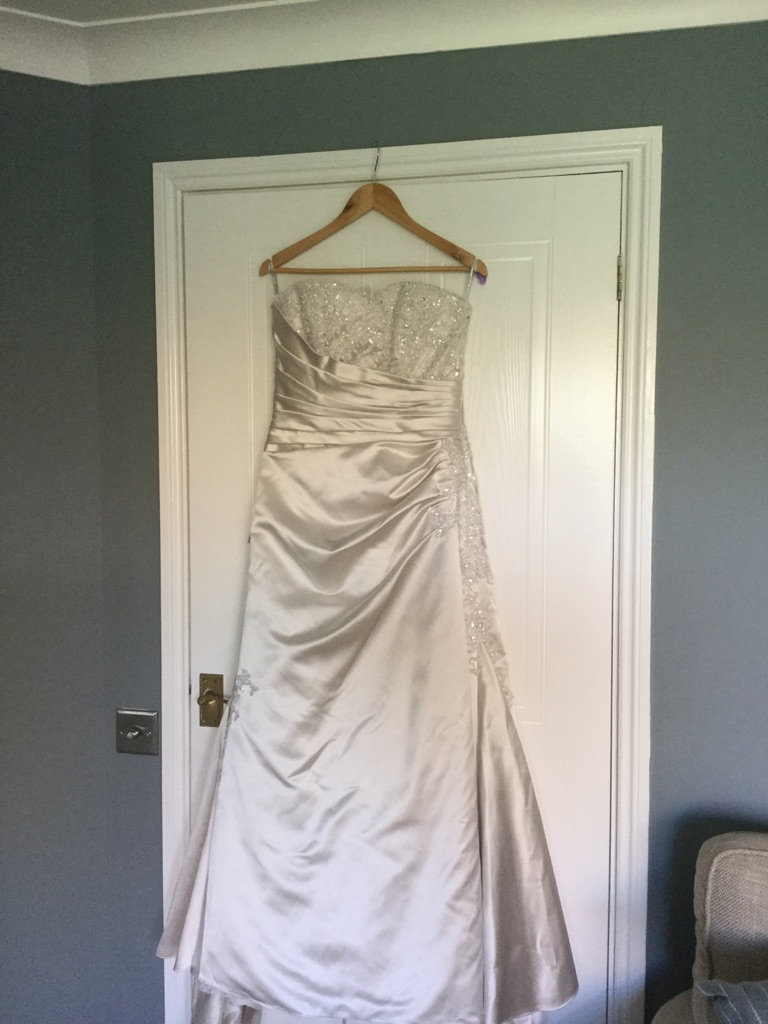 Maggie Sottero couture satin wedding gown | Village