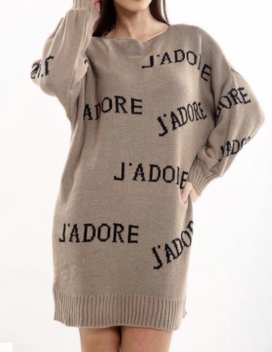 Jadore Jumper dress