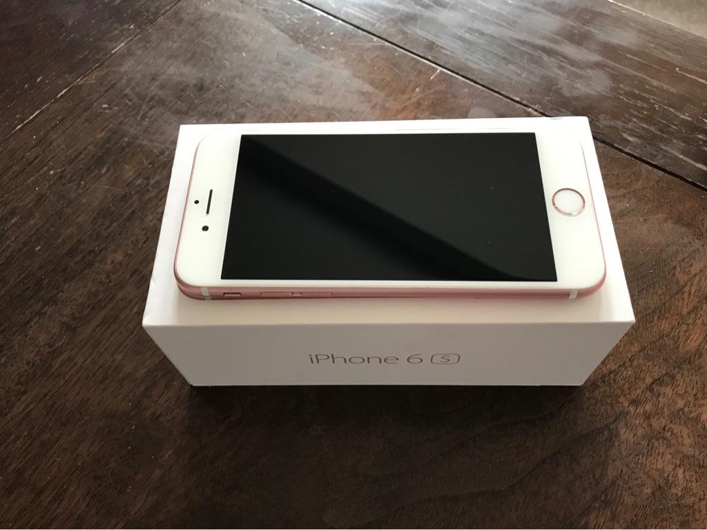 iPhone 6S Rose Gold - 32GB