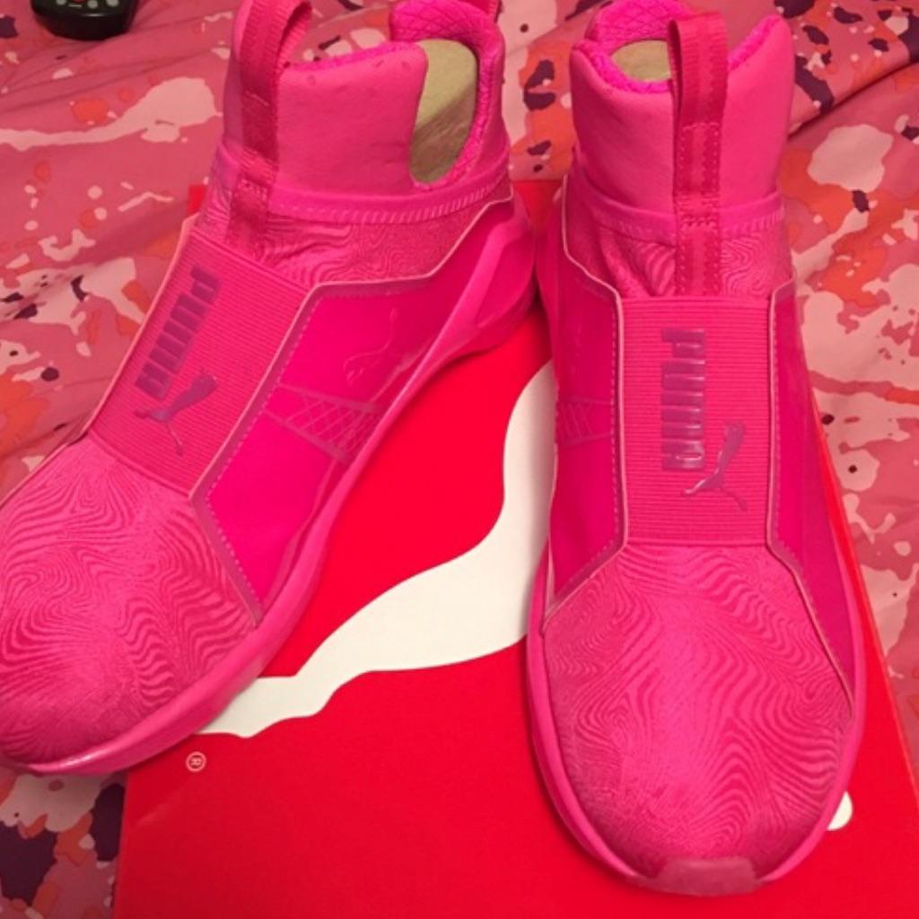 Pink Puma Shoes 💗