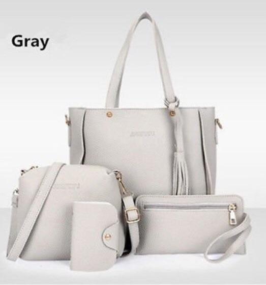 Grey bag set ( set of 4)