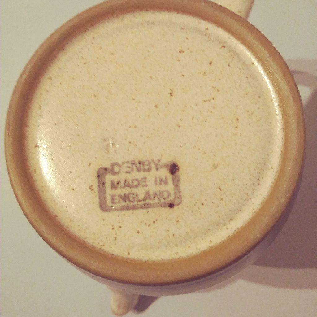 Denby Russet Coffee Pot