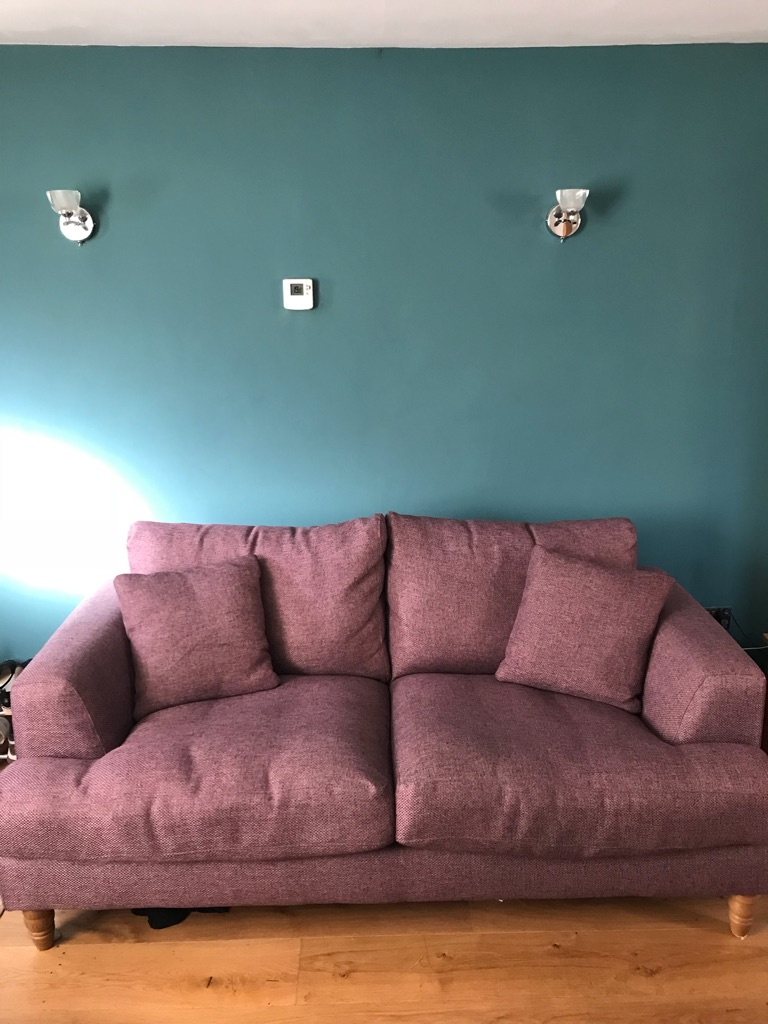 Sofa set, one small double and a single