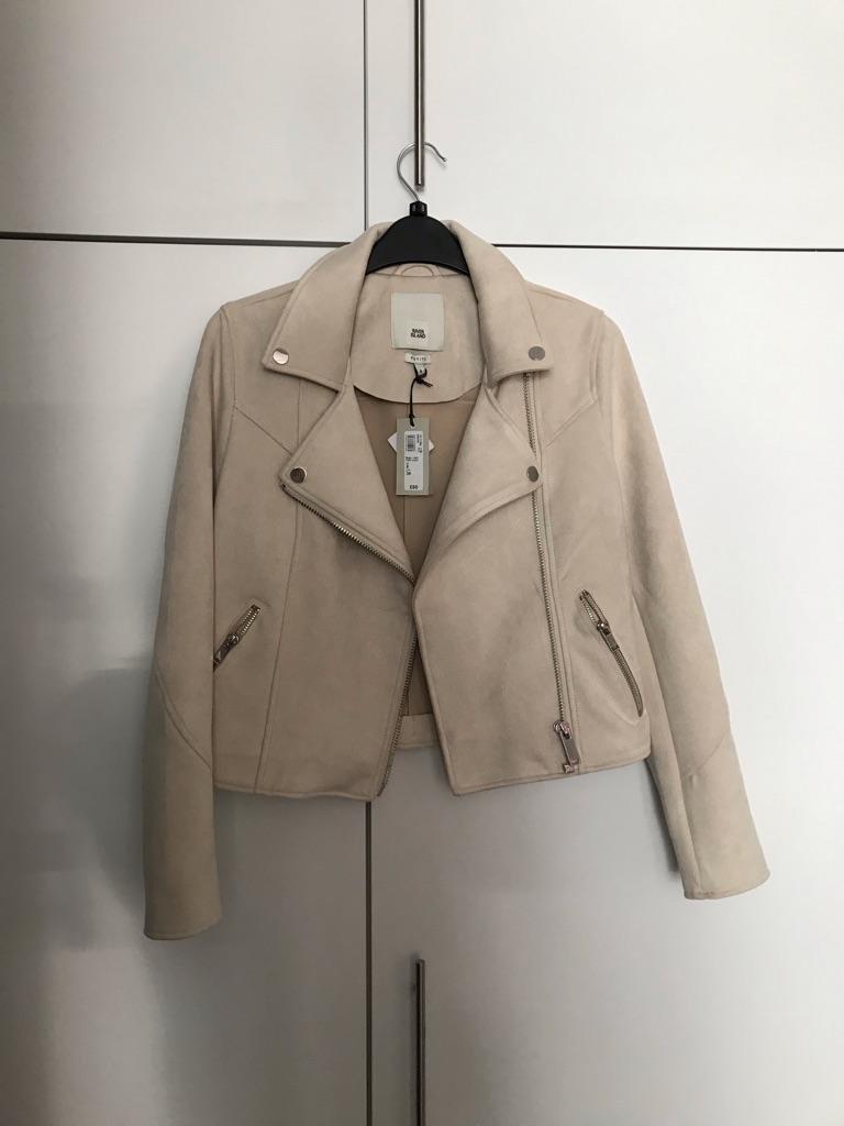 River island faux suede jacket